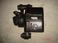 Суппорт тормозной передний левый с АВС  Geely CK-1  Джили СК  14