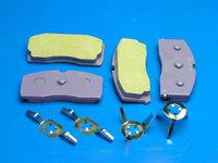 """Колодки тормозные передние """"Bremsweg"""" ceramic (city) Geely CK-1 (Джили СК-1), 3501190005-00BR(350119000500BR          )"""