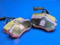 """Колодки тормозные, передние """"Bremsweg"""" ceramic(city) Chery Elara  A21 (Чери Элара), A21-6GN3501080BABR(A216GN3501080BABR       )"""
