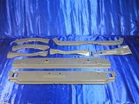 Передняя установочная панель (очки), из 8 частей Lifan 520 (Лифан 520), OCHKI_LIFAN_V_SBORE