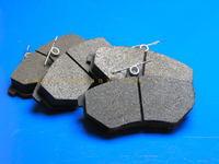Колодки тормозные передние без АБС Geely CK-1 (Джили СК-1), 3501190005-01(350119000501            )