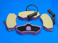 """Колодки тормозные, передние """"Bremsweg"""" ceramic (long life) Chery Tiggo T11 (Чери Тиго), T11-3501080BL(T113501080BL            )"""