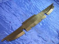 Защита (пыльник) радиатора охлаждения Джили СК Geely CK ( 1800505180 )